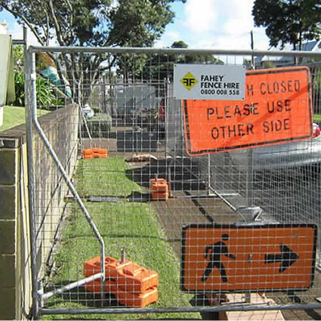 Hire - Square Mesh Temporary Fencing