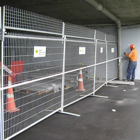 Hire - Barbed Extension Temporary Fencing