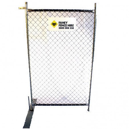 Hire - Pedestrian Gate Temporary Fencing