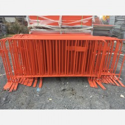 Buy - Orange Crowd Barriers